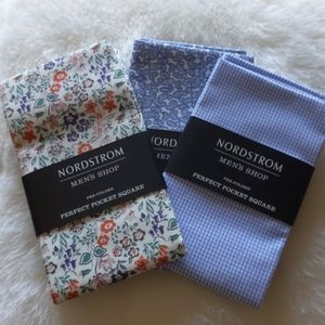 Bundle of 3 Nordstrom Pocket Squares